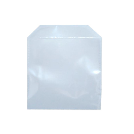 ENVELOPE CD E DVD PLASTICO TRANS.C/100