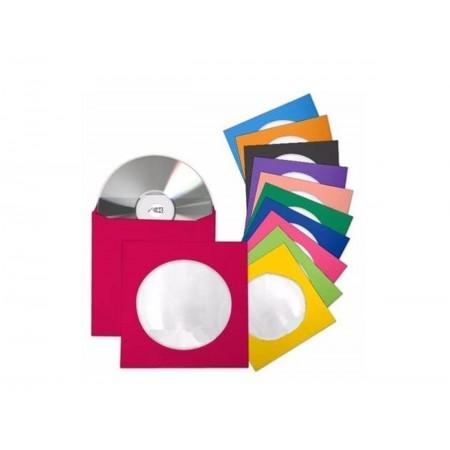 ENVELOPE CD E DVD PAPEL VX.CORES-AV