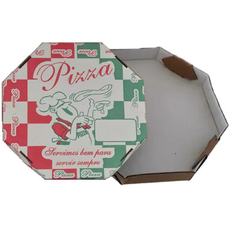 CAIXA PIZZA OITAVADA 40CM FD.BR.C/25