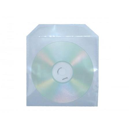 ENVELOPE CD E DVD PLASTICO TRANS.- AV.