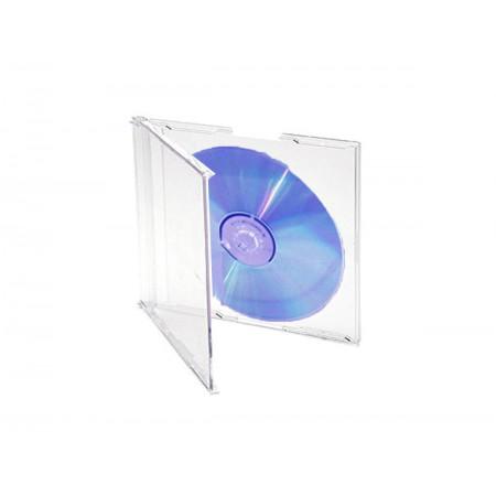 CAIXA CD/DVD ACRILICA PEQ.TRANS.SLIN -AV