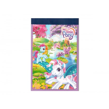 BLOCO PAUTADO 16X24 MY LITTLE PONY 30F.