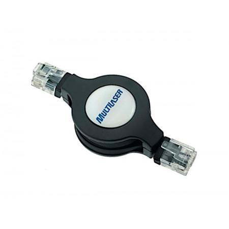 CABO USB LAN 8P8C/8P8C RETRATIL RJ45 1M