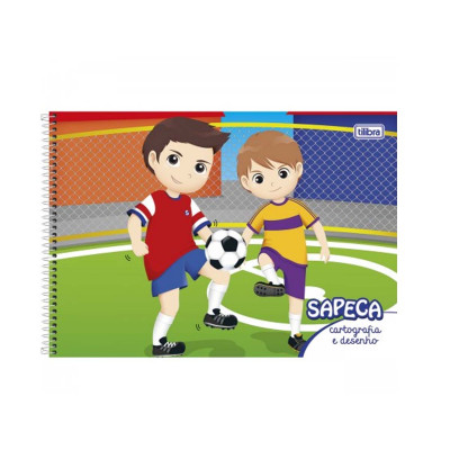 CADERNO CART.48F.SAPECA MASC.S/S.CD.