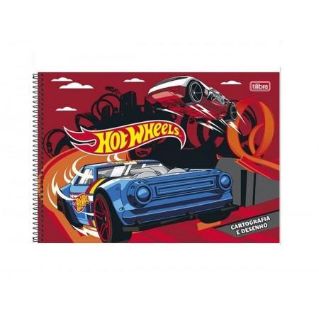 CADERNO CART.96F.HOT WHEELLS S/S.CD.
