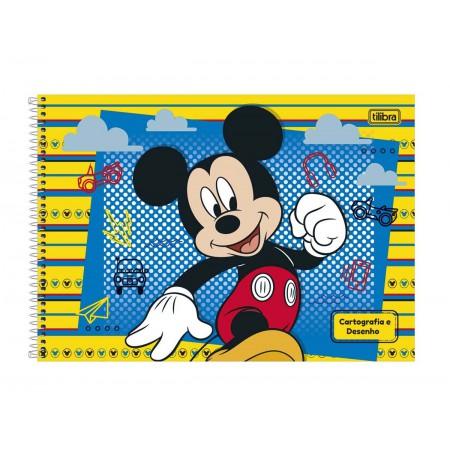 CADERNO CART.96F.MICKEY ESP.G.S/S.CD.