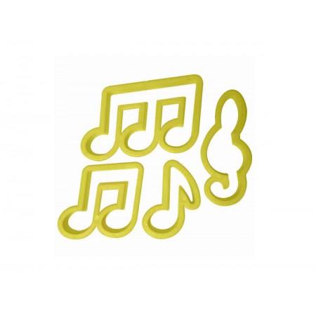 CORTADOR NOTAS MUSICAIS C/4