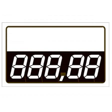 PLACA PVC 7X8 DIGITAL BRANCA C/50