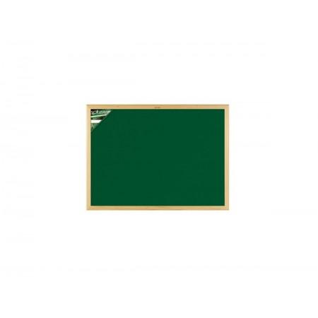 QUADRO VERDE 040X050 ML.MADEIRA-2205