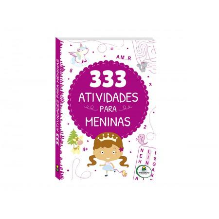 LIVRO ATIV. 333 ATIVIDADES MENINAS