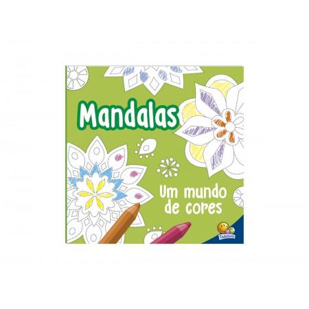 LIVRO COL.MANDALAS UM MUNDO DE CORES