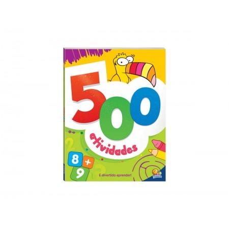 LIVRO ATIV. 500 ATIVIDADES LARANJA