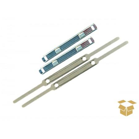 GRAMPO TRILHO METAL 80MM R&J ACC C/50
