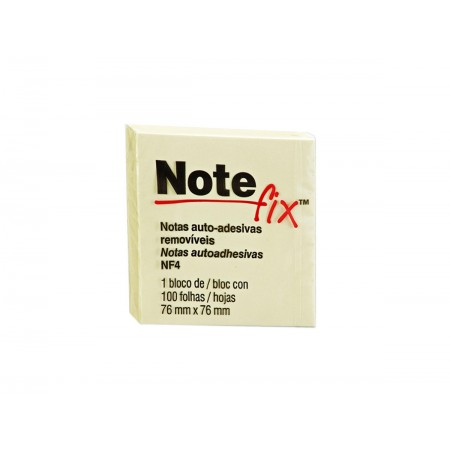 POST-IT 76X 76MM AMARELO NOTEFIX 100F.