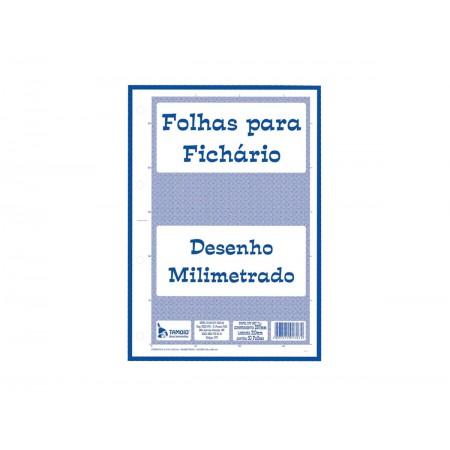 PAPEL MILIMETRADO A4 BLOCO 50F.
