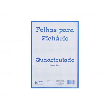 PAPEL QUADRICULADO 0,5X0,5CM 50F.