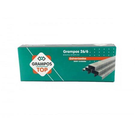 GRAMPO GRAMPEADOR 26/6 GALVAN.TOP C/5000