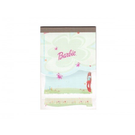 BLOCO PAUTADO 16X24 BARBIE SUPER 30F.