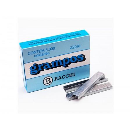 GRAMPO GRAMPEADOR 222/6MM MADEIRA C/5000