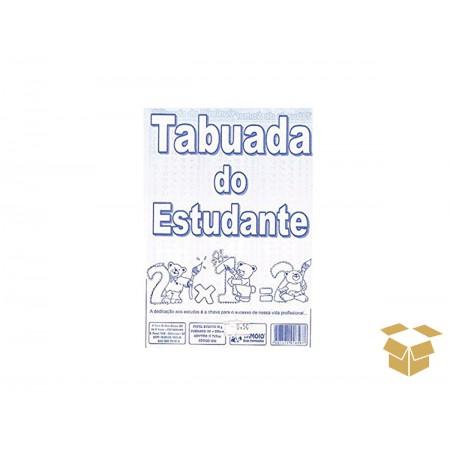 TABUADA 06 FOLHAS 10X15CM.C/50