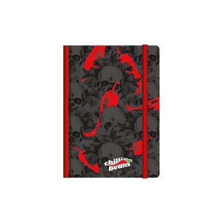 CADERNETA CART. 80F.CHILLI BEAN.09X14 CD