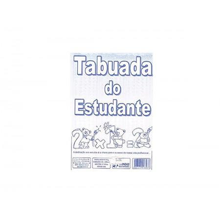 TABUADA 06 FOLHAS 10X15CM.-AV