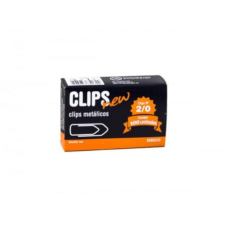 CLIPS N. 2/0 GALVANIZADO C/100